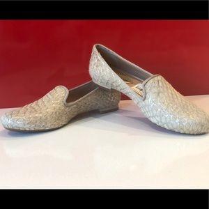 Antonio Melani golden loafers new! 6M